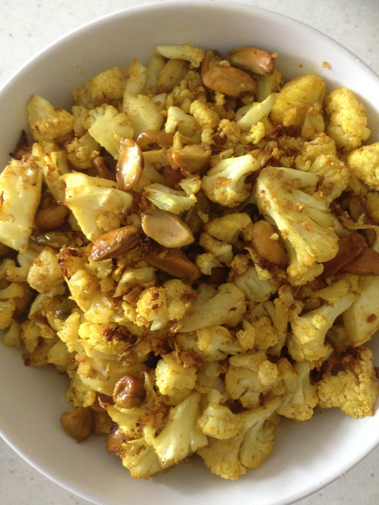 Nutty Roasted Cauliflower