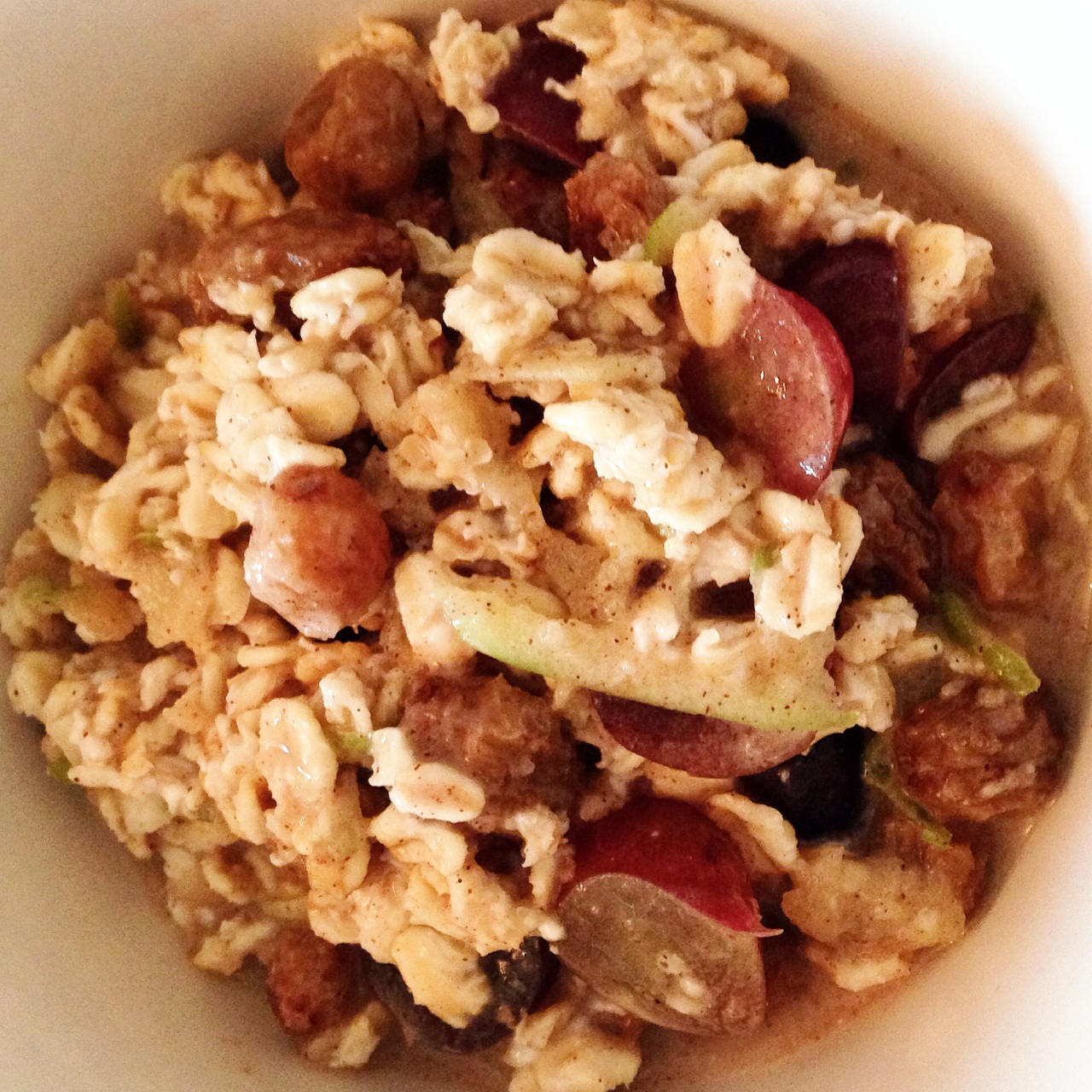 Basic bircher muesli recipe