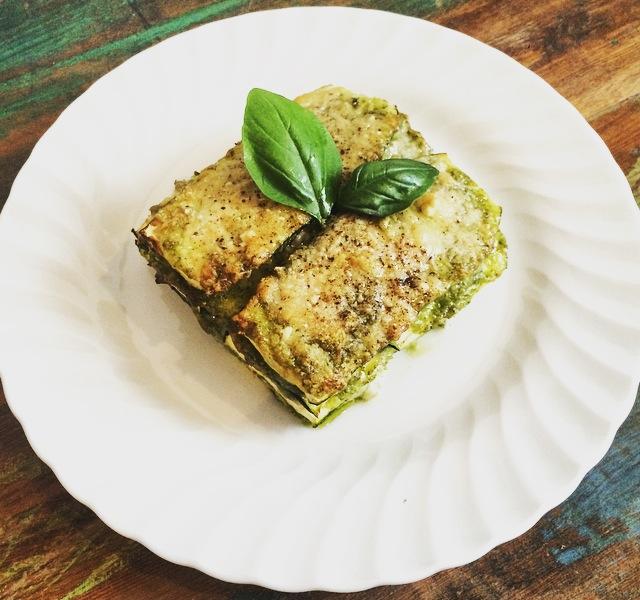 Courgette/Zucchini Stack