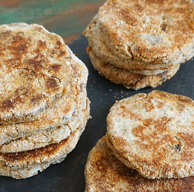 Healthy Welsh Cakes(Vegan)