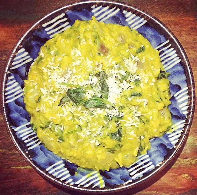 Spicy Lentil, Kale & CoconutCurry