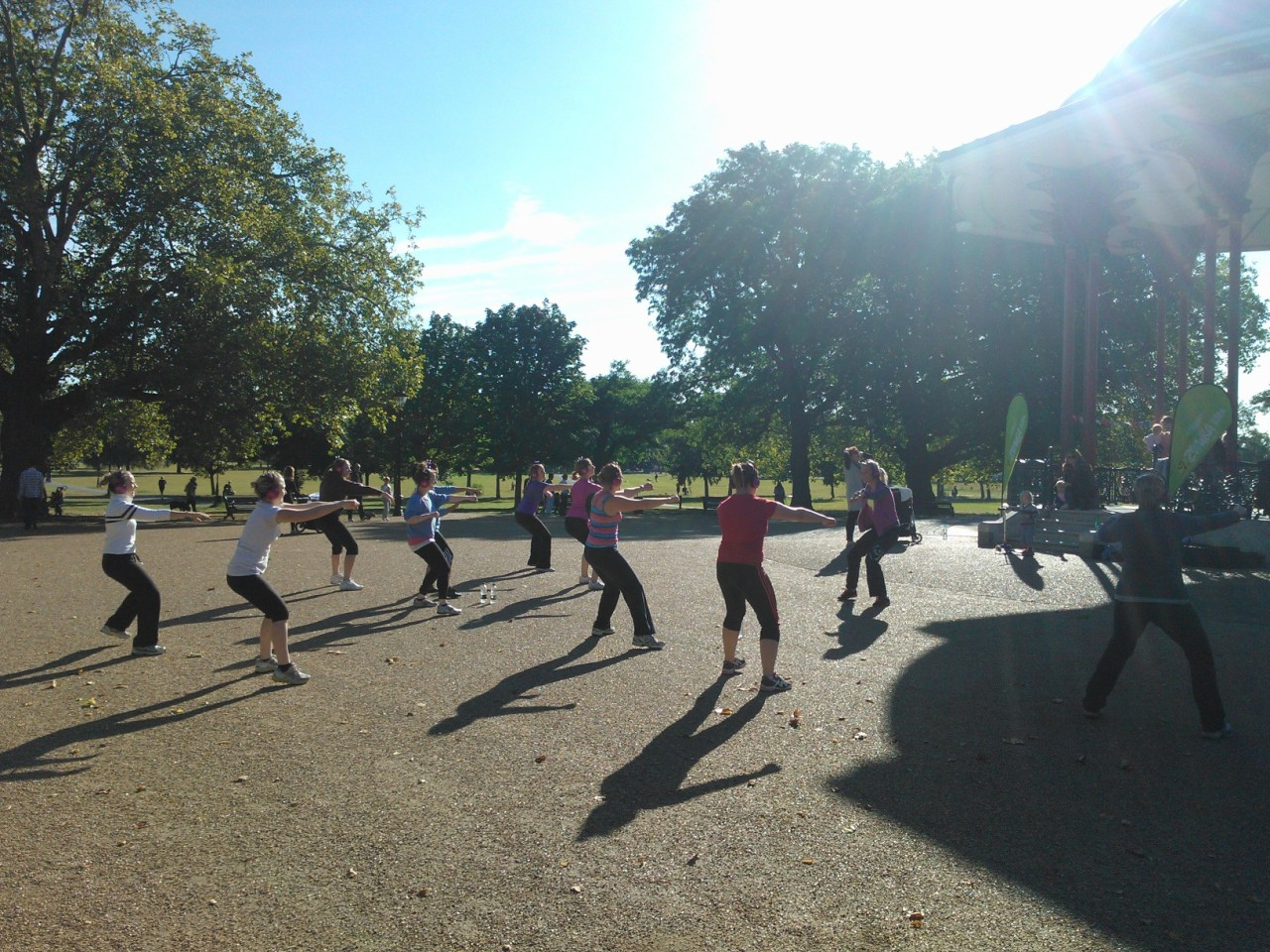 Review: Wireless Fitness/Dancing in the Park!