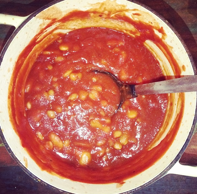 Rustic Baked Beans (The Healthier Way)